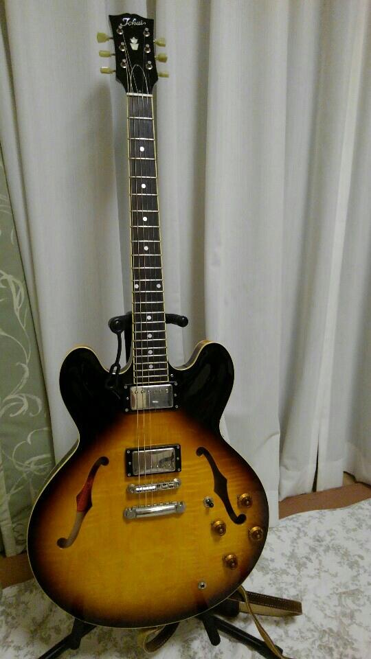 ギター全景