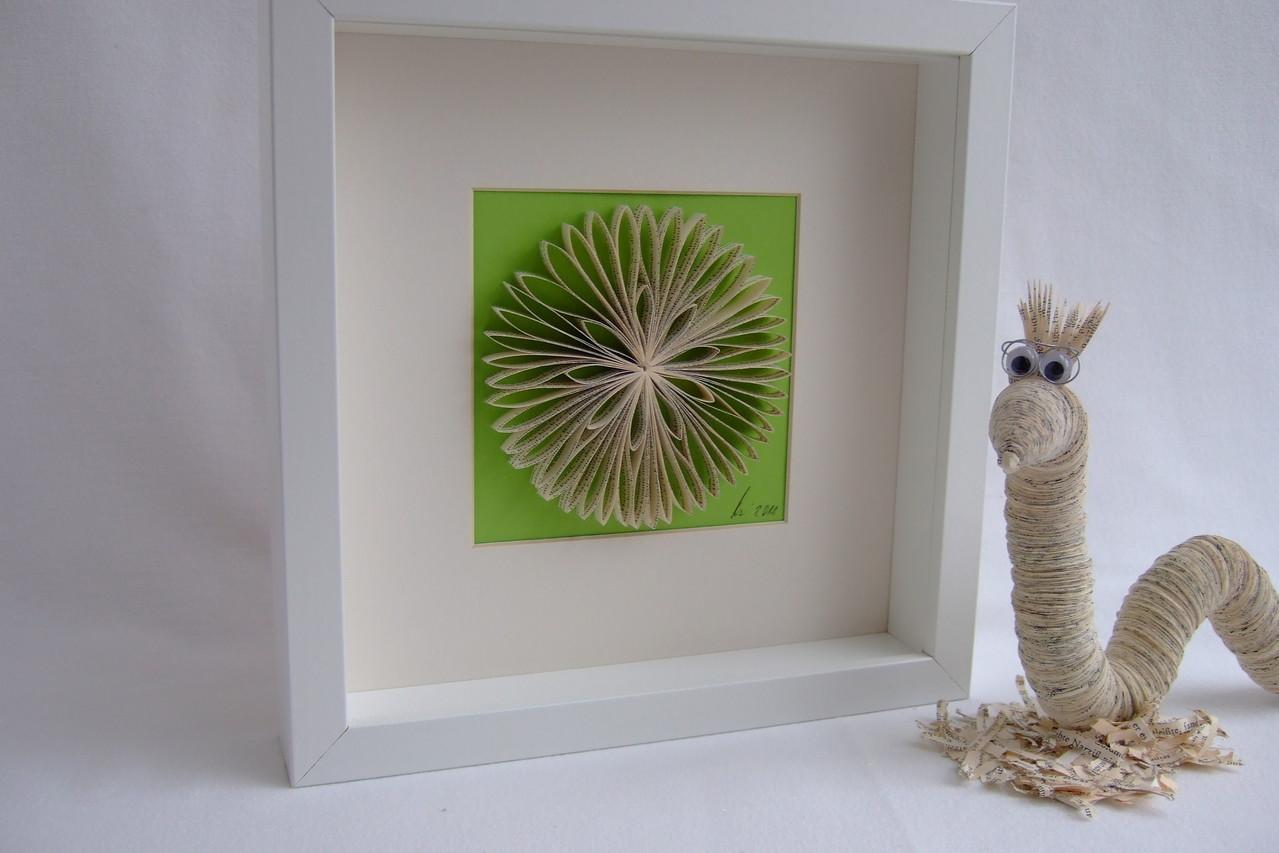 Buch-Blume ca. 12cm Durchmesser)  25,00€