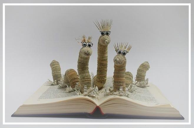 (006) Bücherwurm-Trio 120,00 € zzgl. Versandkosten