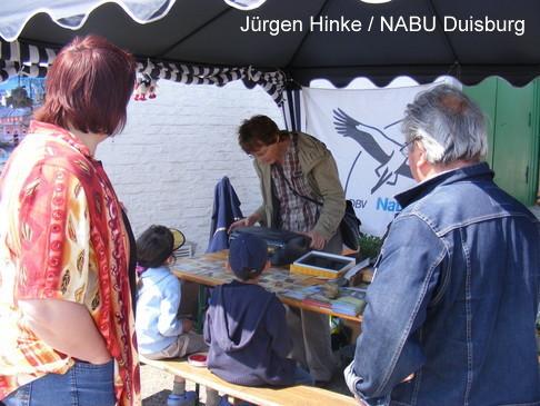 Groß und Klein für die Natur begeistern, die Mission des NABU Duisburg