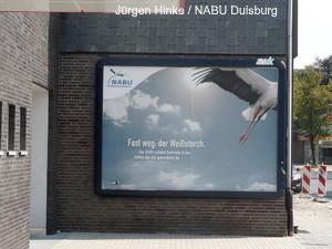 Plakatwerbung in Duisburg-Großenbaum