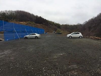 余裕のある駐車場で80台は入ります