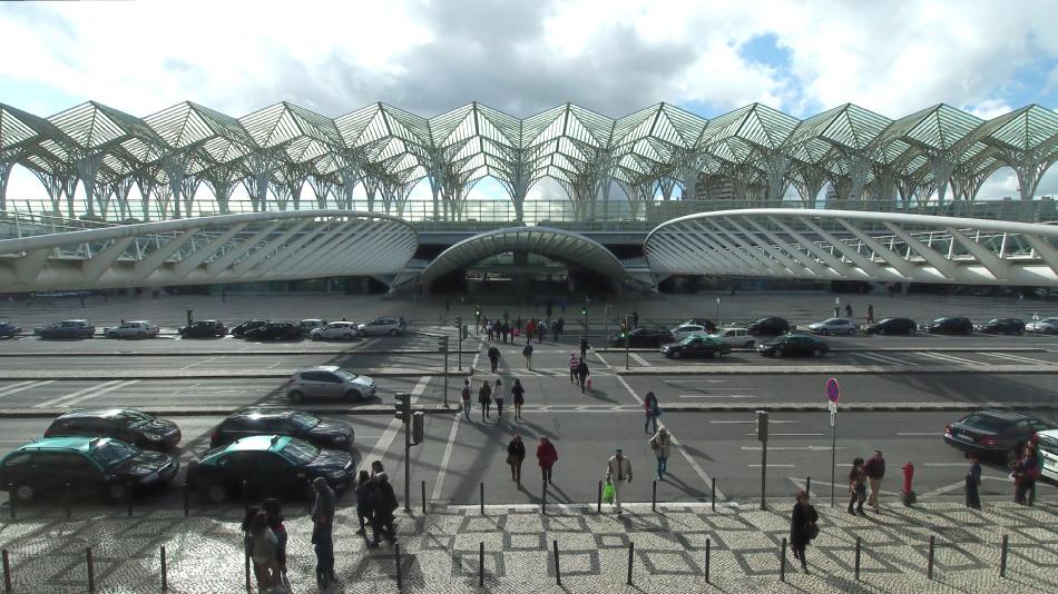 Lissabon - Bahnhof Oriente