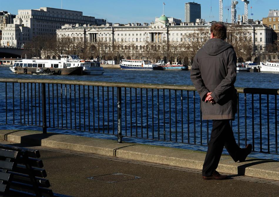 London - entlang der Themse