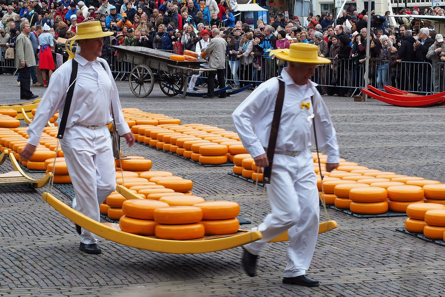 Alkmaar, Käsemarkt