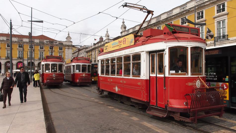 Lissabon - Praca do Comércio