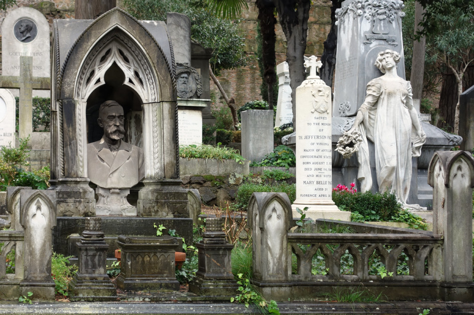 Rom, protestantischer Friedhof