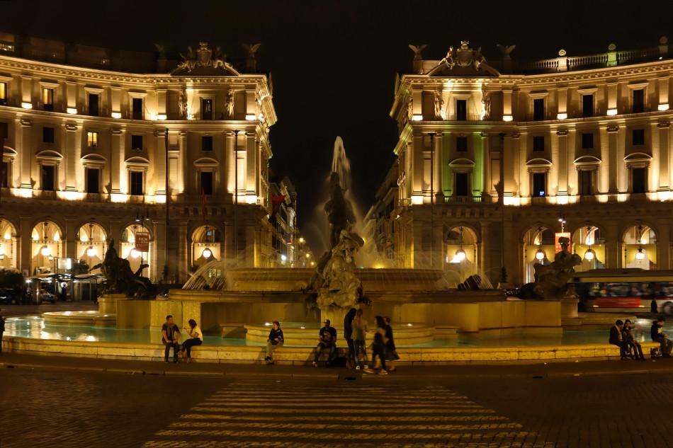 Rom - Piazza della Repubblica
