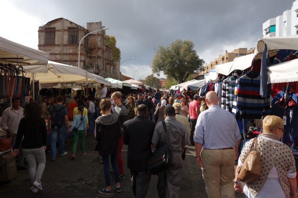 Rom - Markt an der Porta Portese