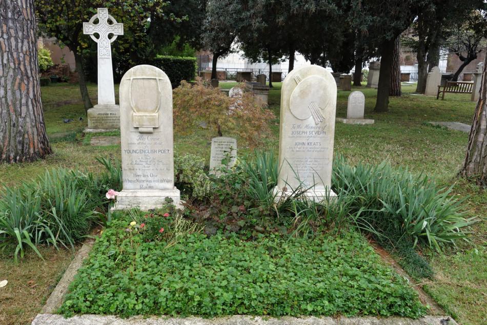 Rom, protestantischer Friedhof, Cimitero acattolico