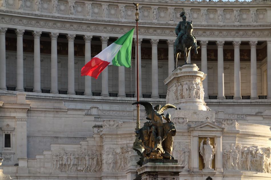 Rom - Monumento Nazionale a Vittorio Emanuele II