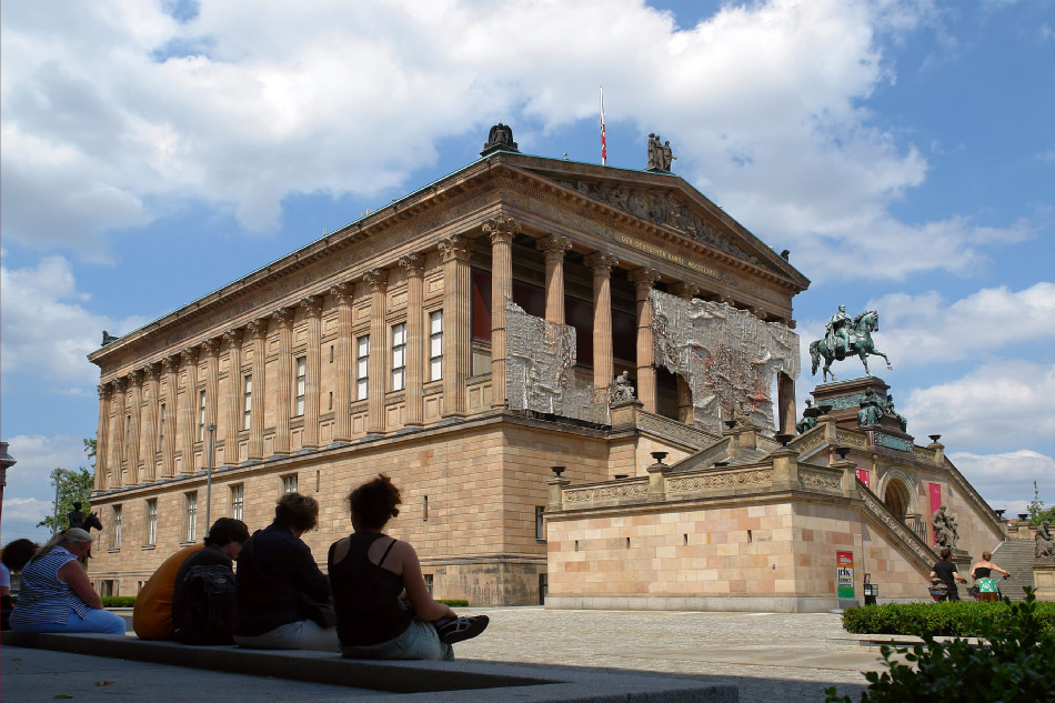 Berlin - Museumsinsel - Alte Nationalgalerie