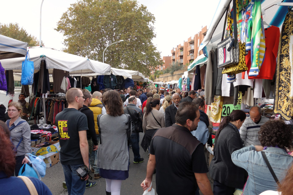 Rom Markt an der Porta Portese