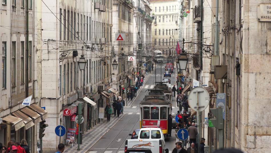 Lissabon - Baixa