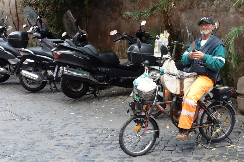 Rom - Trastevere, Messerschleifer