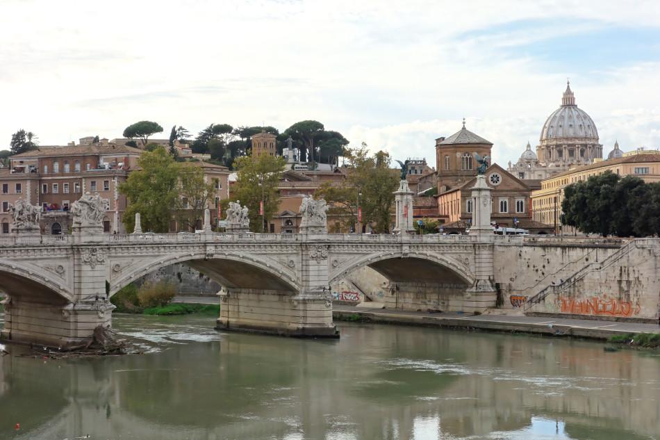 Rom - Ponte Vittorio Emanuele II