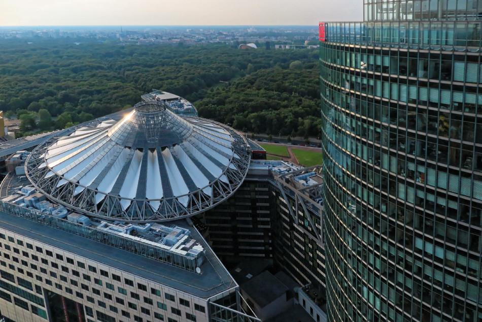 Berlin - Potsdamer Platz - Sony Center