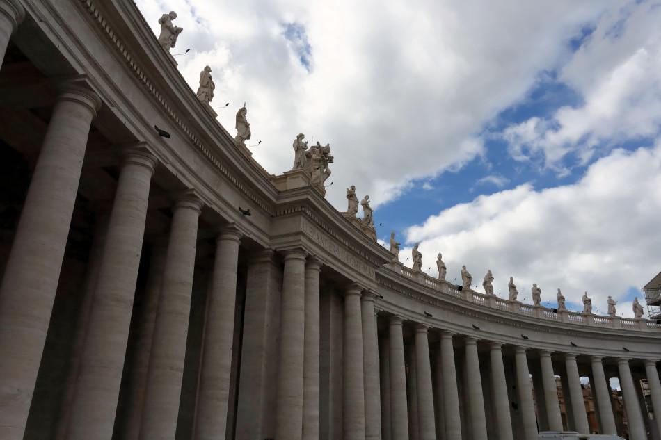 Rom - Vatikanstaat - Piazza San Pietro