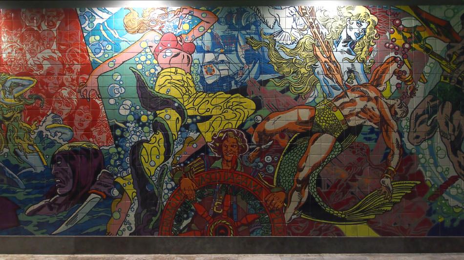 Lissabon - Metro Oriente