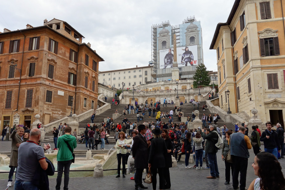 Rom - Spanische Treppe