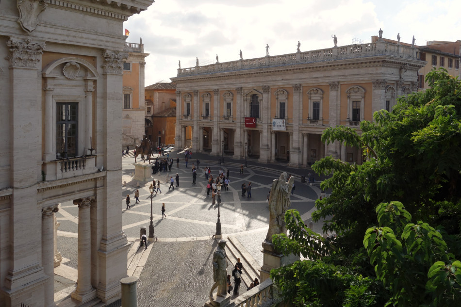 Rom - Piazza del Campidoglio