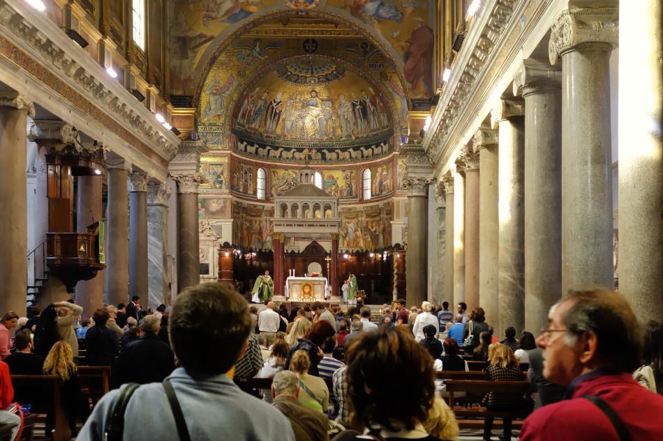 Rom - Santa Maria in Trastevere