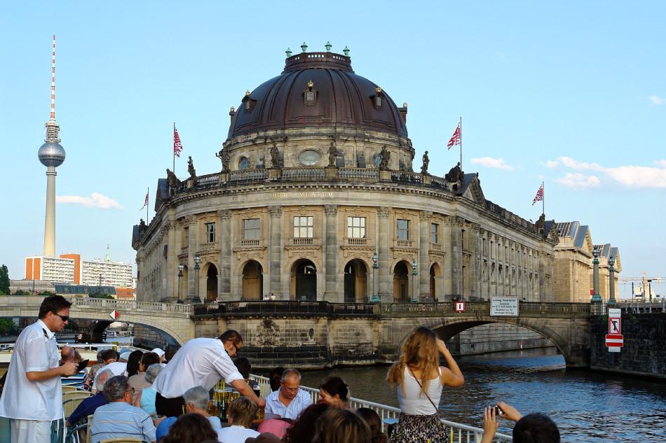 Berlin - Bode-Museum auf der Museumsinsel