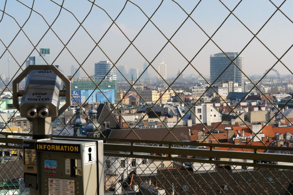 Wien - Stephansdom - Blick vom Turm