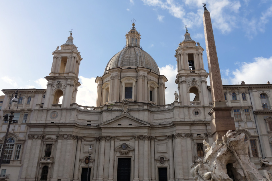 Rom - Piazza Navona - Sant'Agnese in Agone