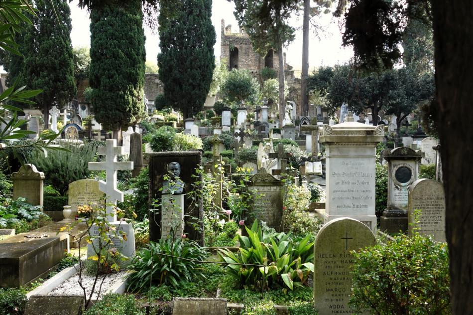 Rom - protestantischer Friedhof