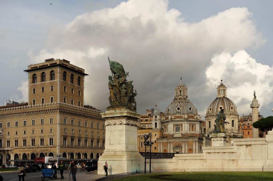 Rom - Piazza Venezia / Trajansforum
