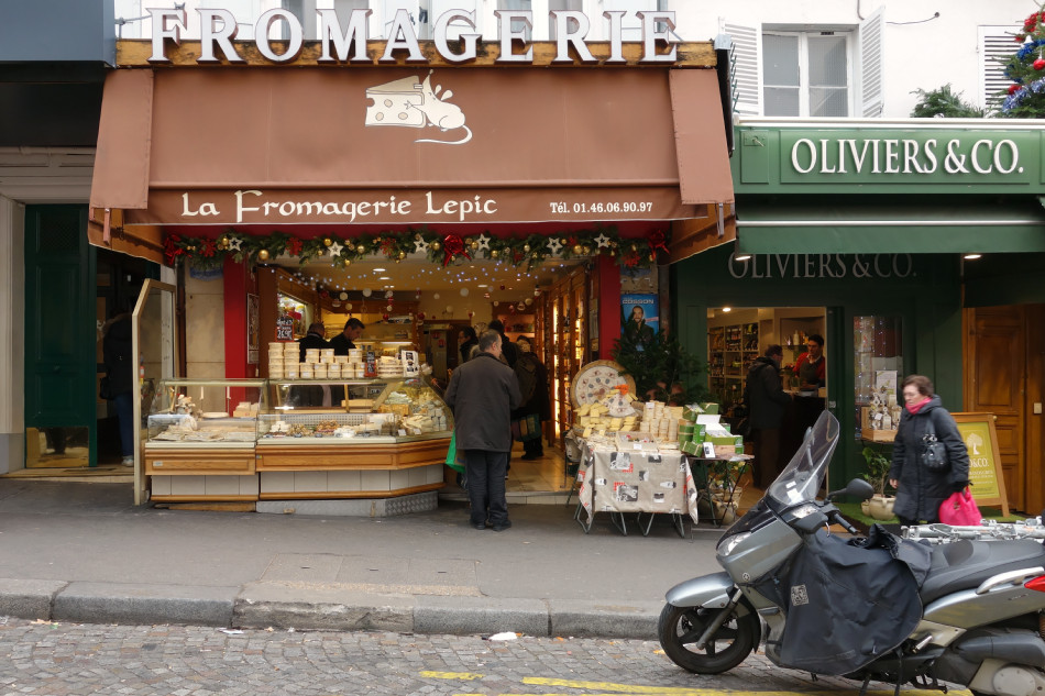 Montmartre Rue Lepic