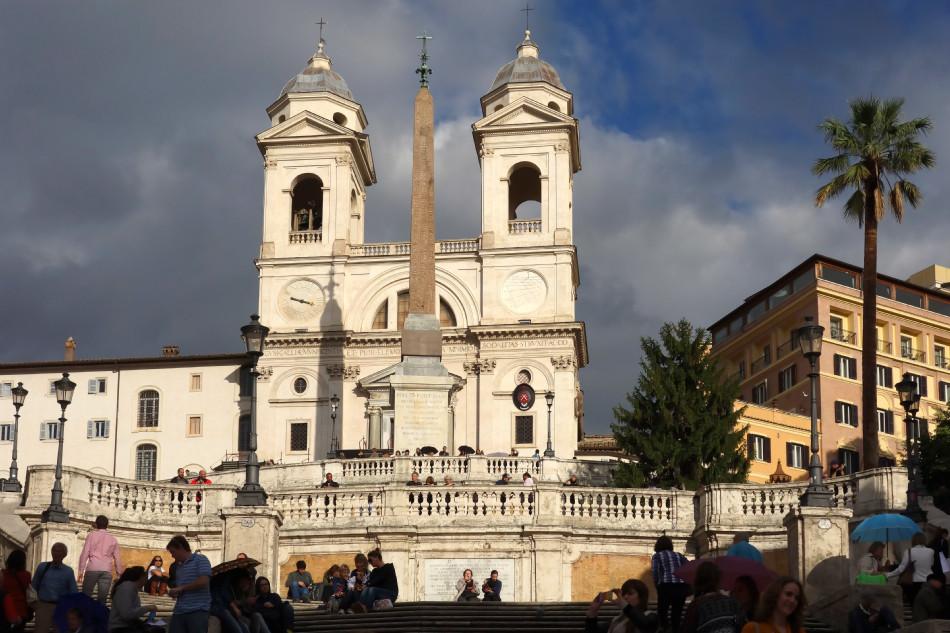 Rom - Trinita dei Monti