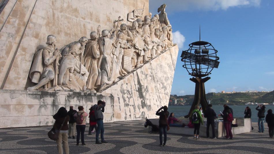 Lissabon - Denkmal der Entdeckungen