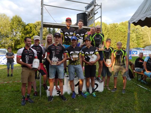 Team 3. RSC AUTO BROSCH Kempten 1.Team2race.de p. Aktiv3 2.Gartengestaltung Brand