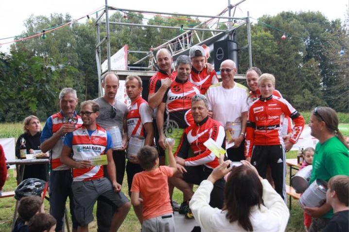 Teamwertung - 1.rad+sport ersing ehingen 2.Team Gartengestaltung Brand 3.SV Laupheim Radsport