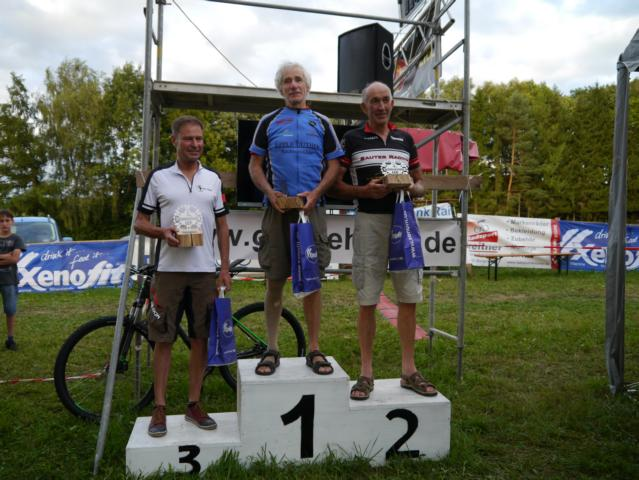 Masters 3  3.Rudi Seher 1.Hans-Martin Schaible 2.Erwin Sauter