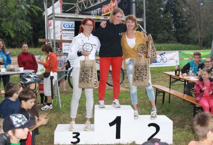 Damen Masters - 1.Tina Froschermeier 2.Conny Zell 3.Susanne Sienel