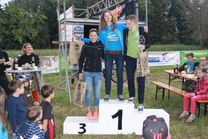 Damen - 1.Belinda Hoffmann 2.Birgitta Putzenlechner 3.Carolin Moser