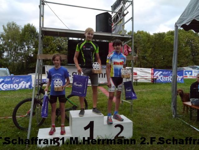 Junioren 3.Tim Schaffran 1.Matthias Herrmann 2.Felix Schaffran