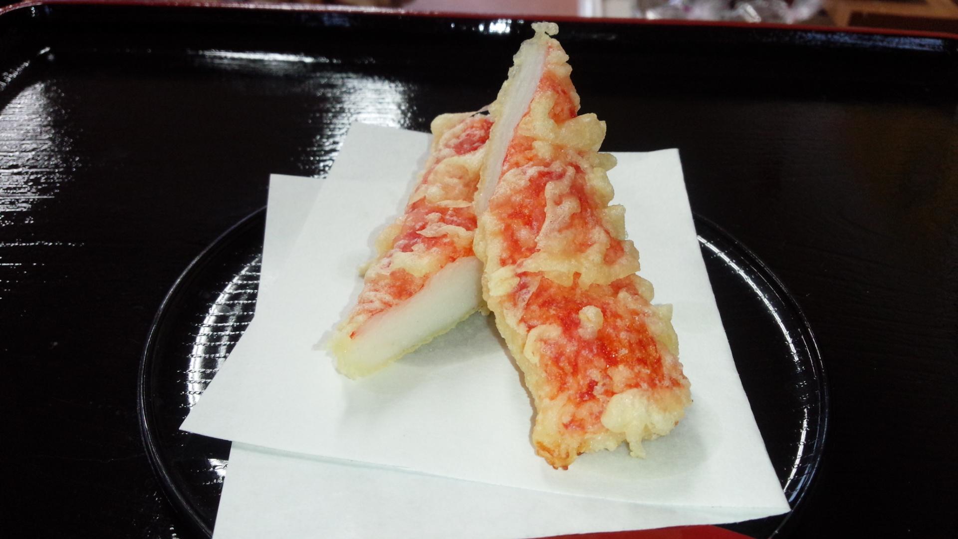 カニカマの天ぷら