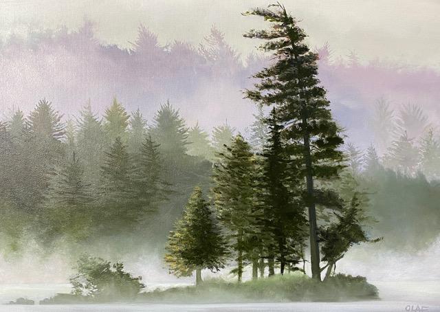 MISTY WIND 20 x 28 oil on canvas