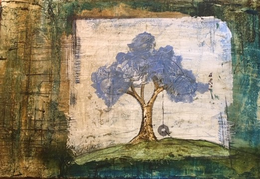 KINDRED 24 x 36 acrylc by Lisa Mace SOLD
