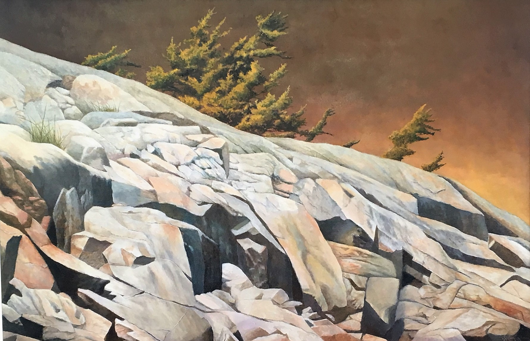 Killarney Golden Light 24 x 36 oil
