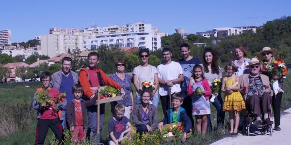 Partage Jardinage Proximité Echange Mixité Convivialité Intergénération