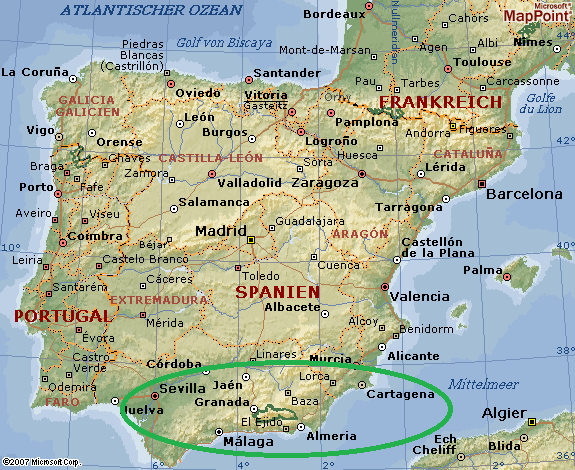 (c) Microsoft MapPoint