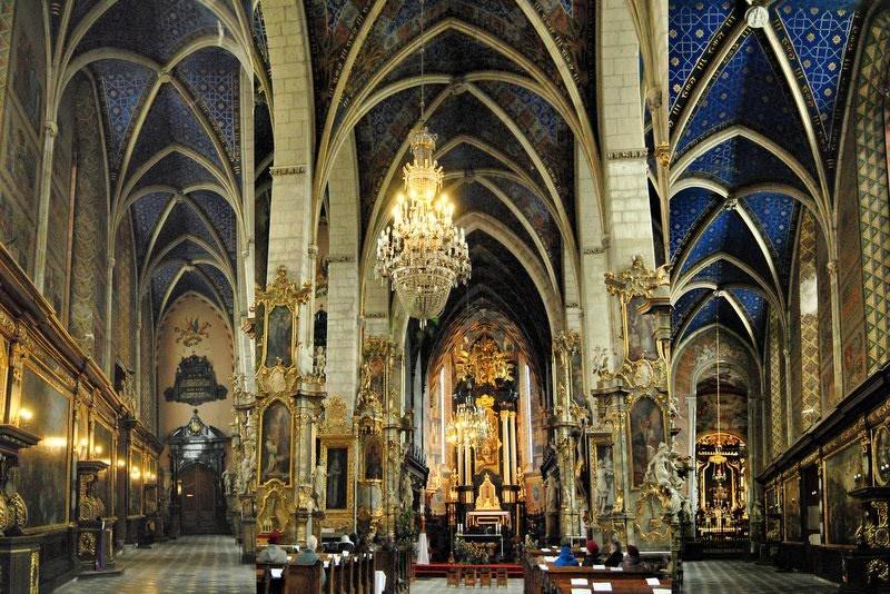 Kathedrale von Sandomierz. (c) Ewa Sierokosz