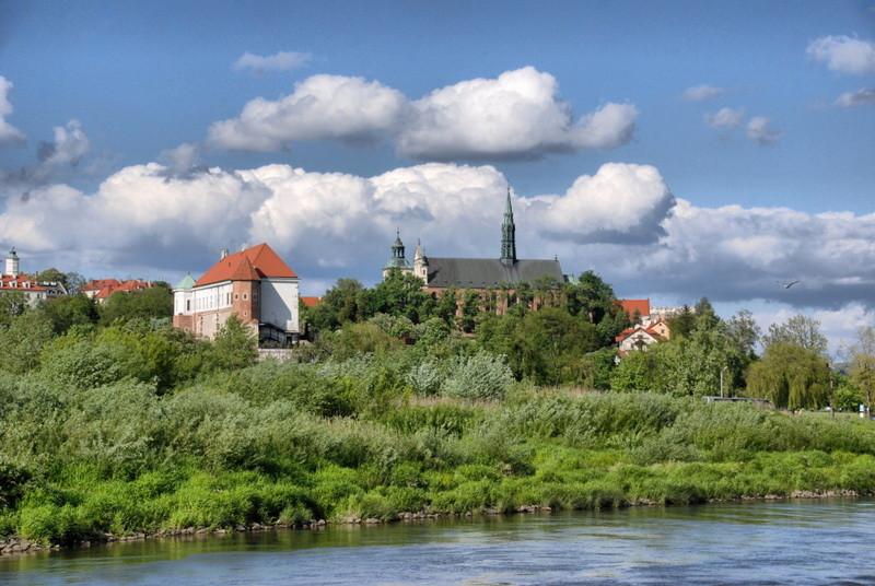 Schloss und Kathedrale von Sandomierz. (c) Ewa Sierokosz