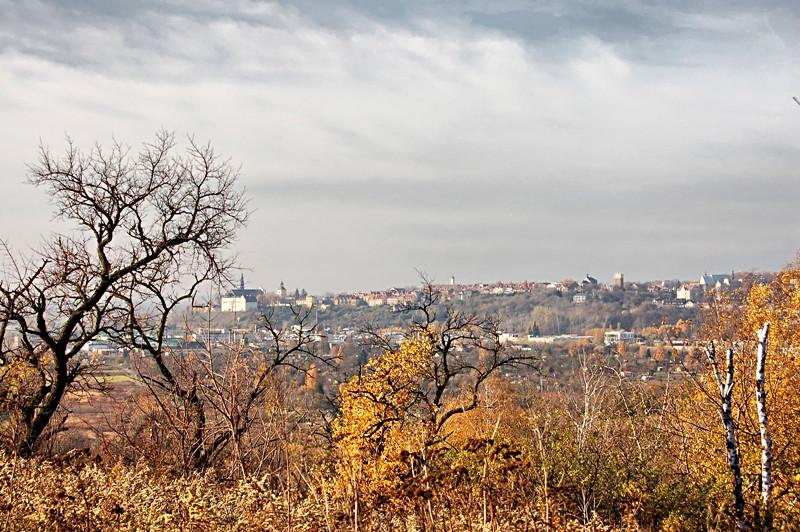 Stadtpanorama vom Pfeffer-Gebirge aus. (c) Andrzej Kozicki