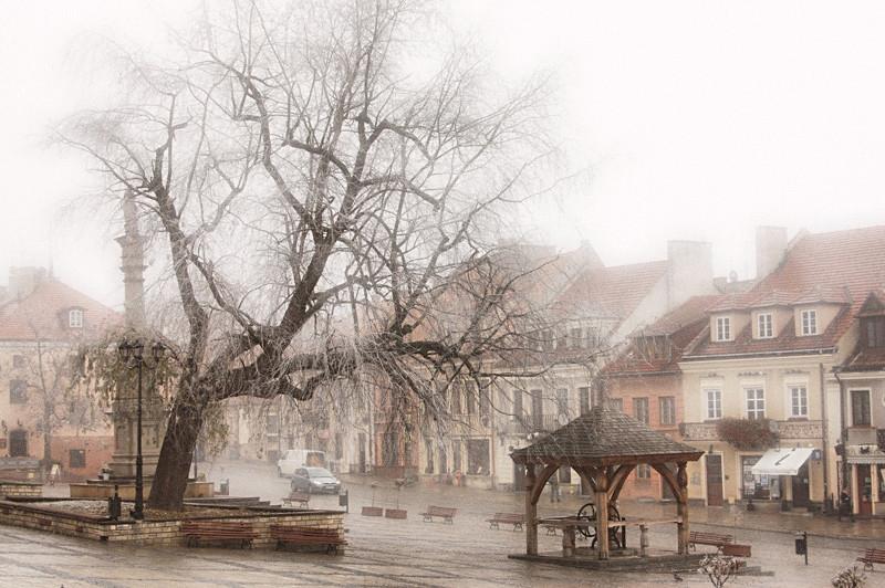 Marktplatz von Sandomierz. (c) Andrzej Kozicki